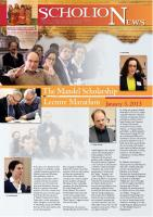 Mandel ScholioNews no. 12, 2013