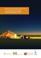 Mandel Scholion Annuual Report 2019